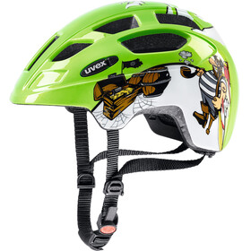 UVEX Finale Bike Helmet Children LED green